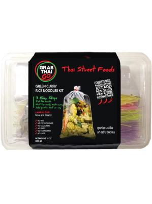 GRAB THAI GO Green Curry Rice Noodles Kit - GRAB THAI