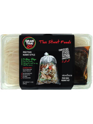 GRAB THAI GO North-eastern Thai-style Pad Thai Kit (spicy) - GRAB THAI