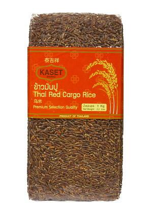 Thai Red Cargo Rice 1kg – KASET