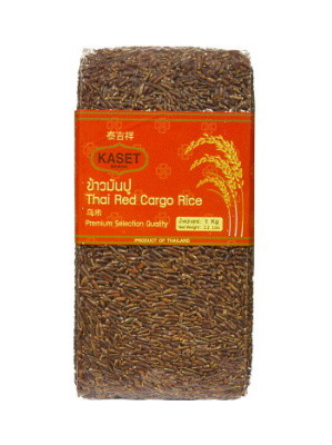 Thai Red Cargo Rice 1kg – KASET
