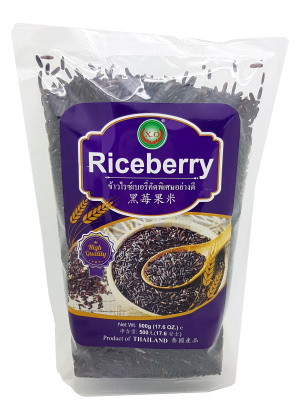 Thai Riceberry Rice 500g – XO