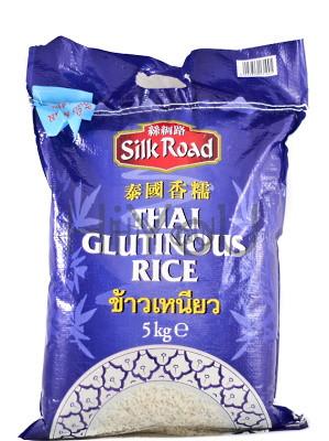 Thai Glutinous Rice 5kg – SILK ROAD