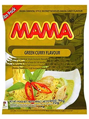 Instant Noodles – Chicken Green Curry Flavour (Jumbo Pack) – MAMA