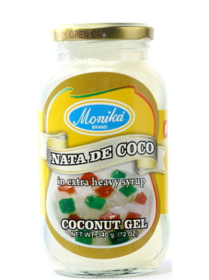 Nata De Coco (Coconut Gel in Syrup) - White - MONICA