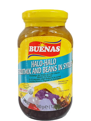 HALO-HALO (Fruit Mix & Beans in Syrup) - BUENAS