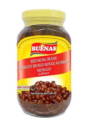 Munggo (Red Mung Beans in Syrup) - BUENAS