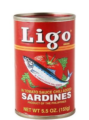 Sardines in Tomato Sauce with Chilli - LIGO