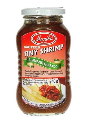 Sauteed Tiny Shrimp - Alamang Guisado - MONIKA