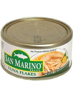 Tuna Flakes with Calamansi - SAN MARINO