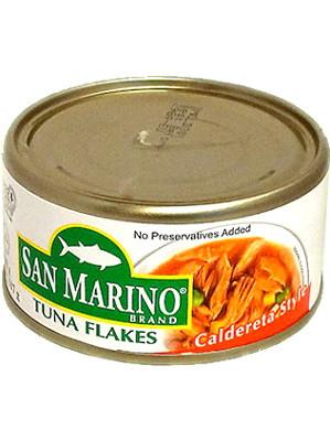 Tuna Flakes - Caldereta Style - SAN MARINO
