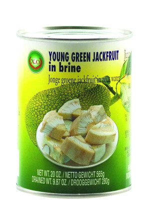 Young Green Jackfruit in Brine - XO