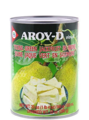 Young Green Jackfruit in Brine - Aroy-D
