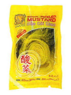 Sour Pickled Mustard - CHANG