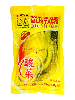 Sour Pickled Mustard with Chilli - CHANG