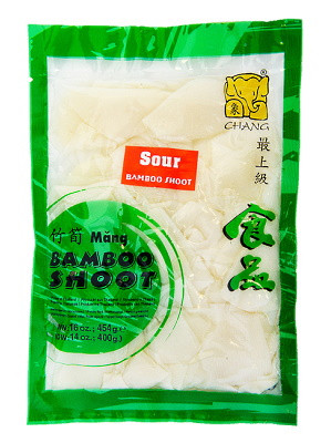 Sour Bamboo Shoot Sliced (vac) - CHANG