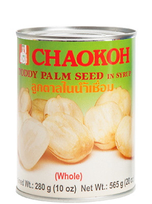 Toddy Palm Seed (whole) in Syrup - CHAOKOH