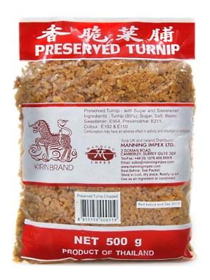 Preserved Turnip (Chopped) - KIRIN