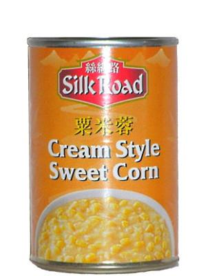 Cream Style Sweetcorn - SILK ROAD
