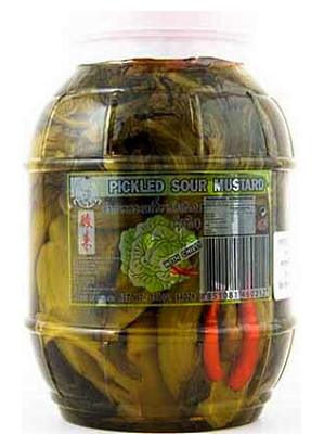Pickled Sour Mustard with Chilli 1.8kg - THAI BOY
