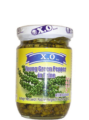 Young Green Pepper in Brine - XO