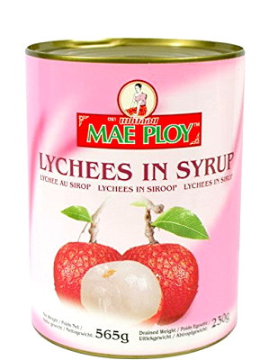 Lychees in Syrup - MAE PLOY