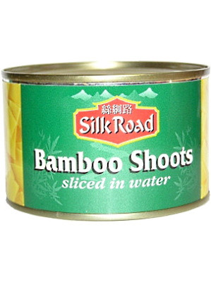 Bamboo Shoots (Sliced) in Water 227g - SILK ROAD