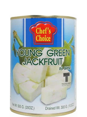 Young Green Jackfruit in Brine - CHEF'S CHOICE