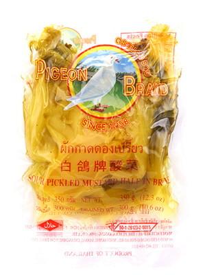 Sour Pickled Mustard (vac) - PIGEON