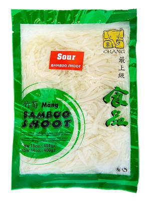 Sour Bamboo Strips (vac) - CHANG