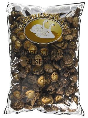 Dried Shitake Mushrooms 1kg - GOLDEN SWAN