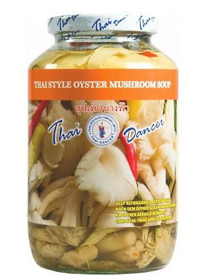 Thai-Style Oyster Mushroom Soup - THAI DANCER