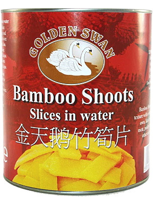 Bamboo Shoot Slices in Water 2.95kg - GOLDEN SWAN