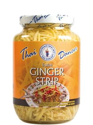 Ginger Strips in Brine - THAI DANCER