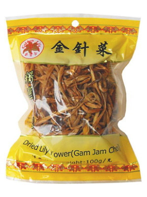 Dried Lily Flower - GOLDEN LILY