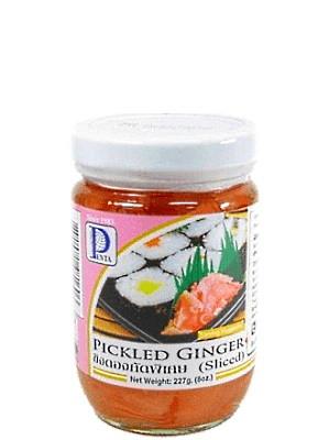 Sliced Pickled Ginger (pink) 227g - PENTA