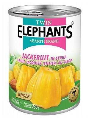 Jackfruit in Syrup - TWIN ELEPHANTS