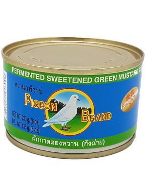 Fermented Sweetened Mustard Green 230g – PIGEON