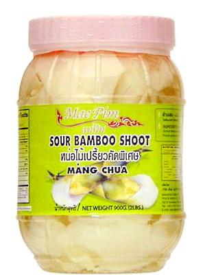 Sour Bamboo Shoot (sliced) 900g – MAE PIM