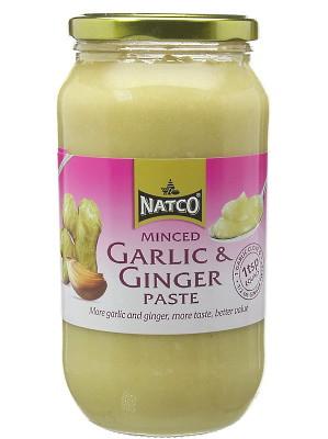 Minced Garlic & Ginger Paste 1kg – NATCO