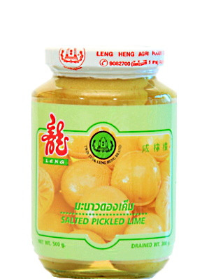 Salted Pickled Limes – LENG HENG