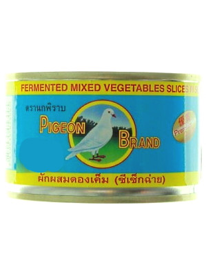 Pickled Mixed Vegetable Slices in Soy Sauce 230g – PIGEON