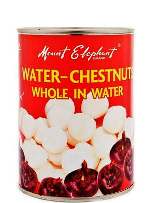 Whole Water Chestnuts in Water 567g – MOUNT ELEPHANT