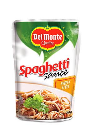 Spaghetti Sauce - Sweet Style 560g - DEL MONTE