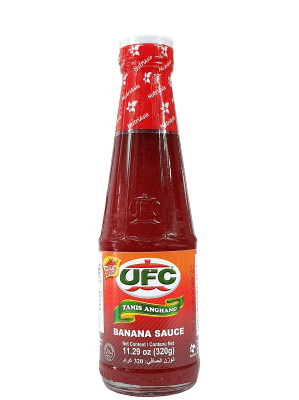 Banana Sauce - Hot & Spicy 320g - UFC