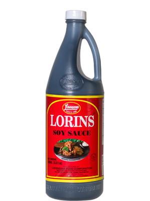 Philippine Soy Sauce 1000ml - LORINS