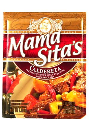 Caldereta (Spicy Sauce Mix) - MAMA SITA'S
