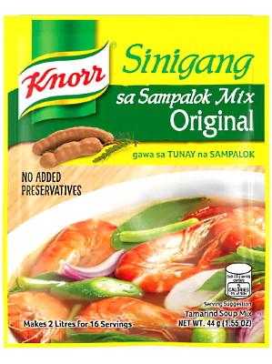 Singang sa Sampalok (Tamarind Soup Mix) 40g - KNORR