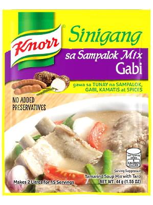 Sinigang sa Sampalok Mix with Gabi - KNORR