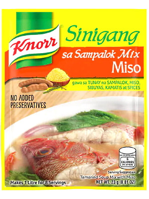 Sinigang na may Miso (Tamarind Soup Base with Miso) - KNORR