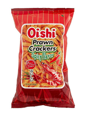 Prawn Crackers - Spicy - OISHI